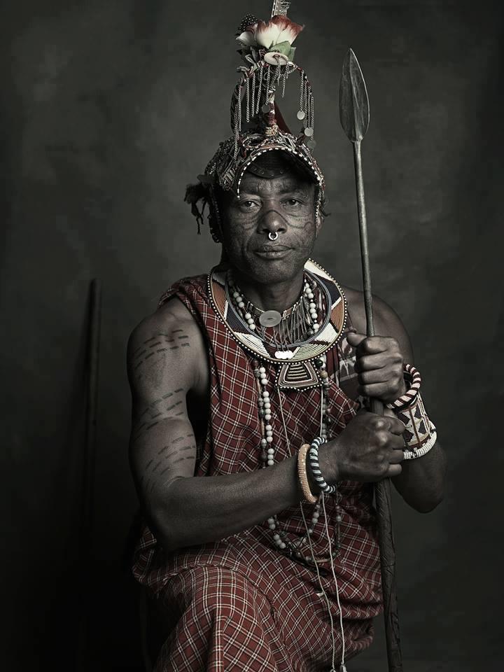 The Masai Warrior - Felix Chughuda